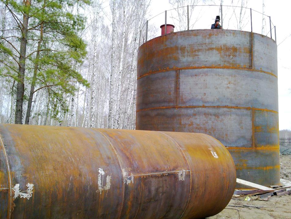 Резервуары РВС-200 от компании Газовик